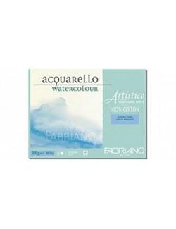 FABRIANO ALBUM 23X30,5 200 G/M 25 FG ACQUERELLO G.F. 100%