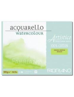 FABRIANO ALBUM 26X36 300 G/M212 FG. ACQUER. 100% COT. G.G.