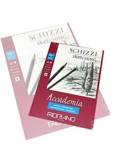 FABRIANO ALBUM 29,7X42 120 G/M2 50 FOGLI PER SCHIZZO